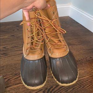 LL Bean The original duck boots size 8